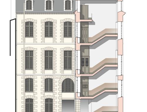 12 place du parlement – Rennes – XVIIIè s