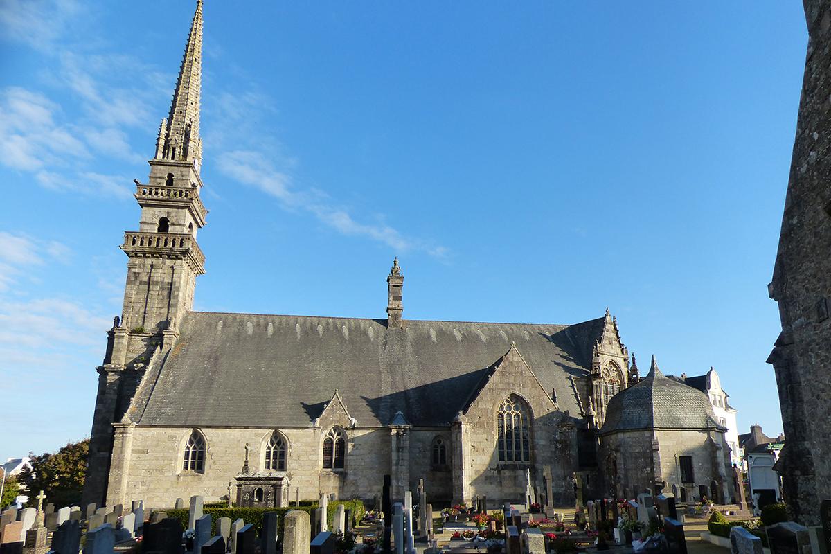 Ensemble de l'église Saint Gouesnou - CLMH- XVIIème siècle