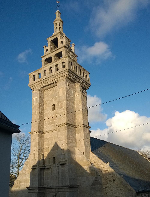 Chapelle Saint Fiacre - Plouider - Maîtrise d'oeuvre pour les travaux d'urgence