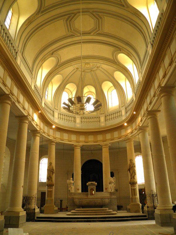 Avranches 50300- Eglise Saint Gervais -ISMH- XIXème siècle