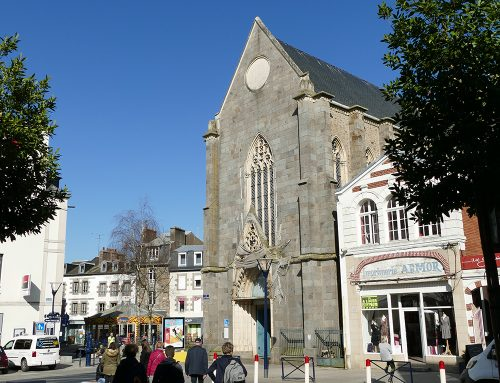 Ville de Saint Brieuc – Chapelle Saint-Guillaume – XIXème s.