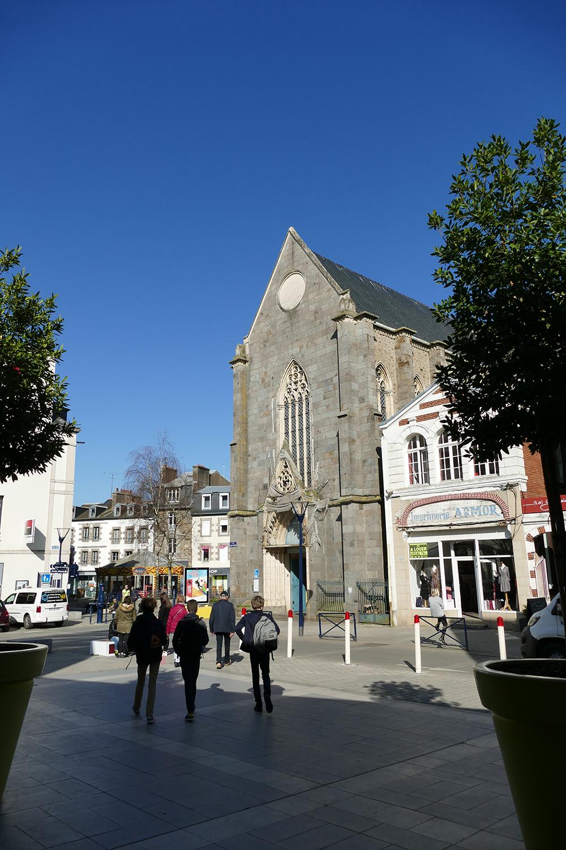 Ville de Saint Brieuc - Chapelle Saint-Guillaume - XIXème s.
