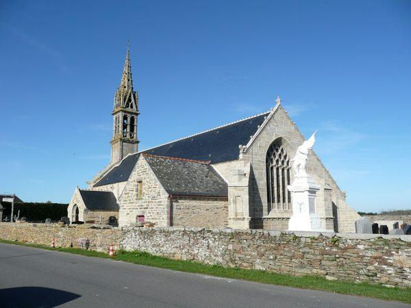 Treguennec 29720- Eglise Notre Dame de Pitié- ISMH-XVIè-XVIIè-XVIIIème siècles