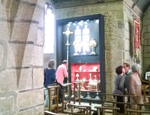 Église – XVI-XVIIème s. – Création de vitrine